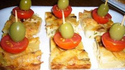 Cubotti di tortilla