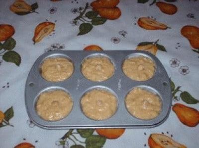 Muffins banane e nocciole
