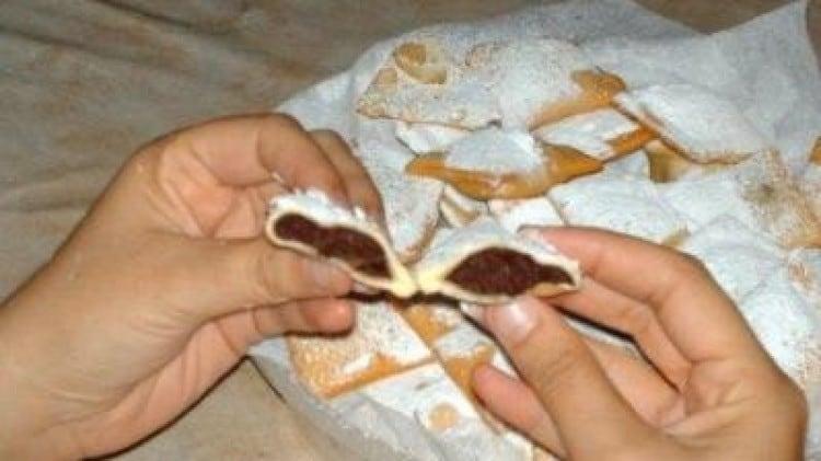 Panzerotti di castagne