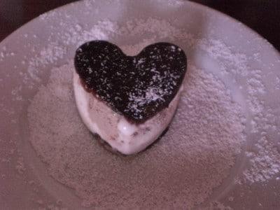 Semifreddo doppio cuore
