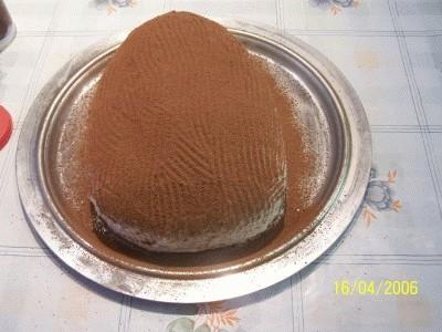 Finto uovo di cioccolato