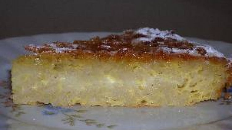 Pastiera di pasta dolce