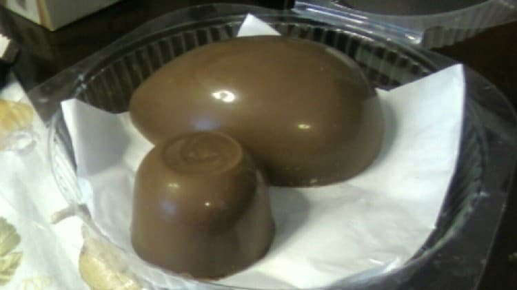 Uova di cioccolato per Pasqua