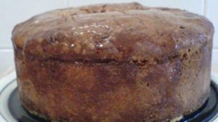 Torta di pere e cannella