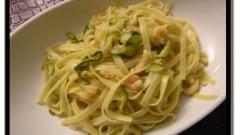 Trenette zucchine e gamberetti