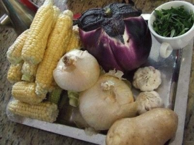 Agnello con verdure al cartoccio