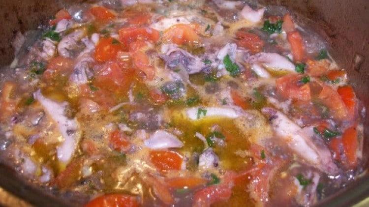 Sugo di calamaretti