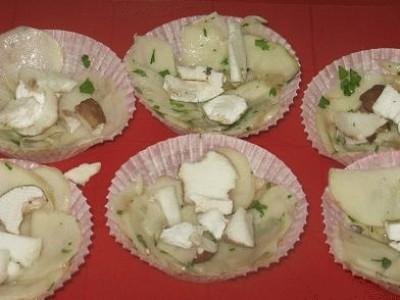 Cestini di patate
