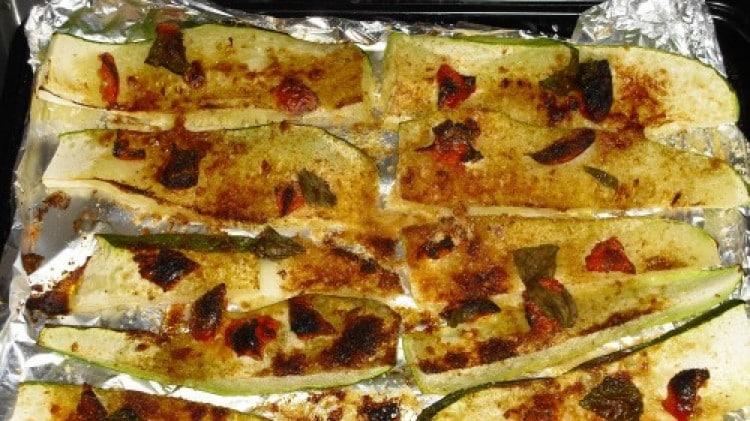 Zucchine tricolore