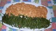 Filetti di petto di pollo con salsa ai pomodori secchi