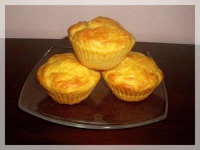 Muffins gialli salati