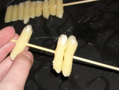 Lecca-lecca di pasta