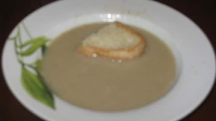 Zuppa ai funghi