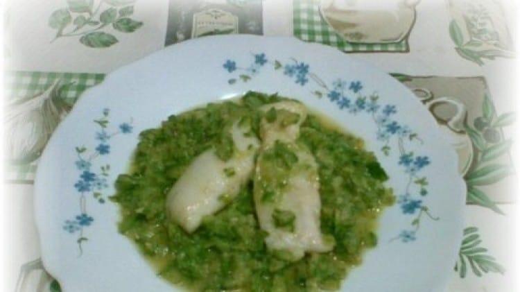 Fiori di merluzzo con zucchine