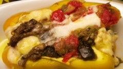 Peperoni ripieni di fricò di Romagna