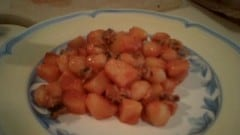 Seppioline in umido con patate