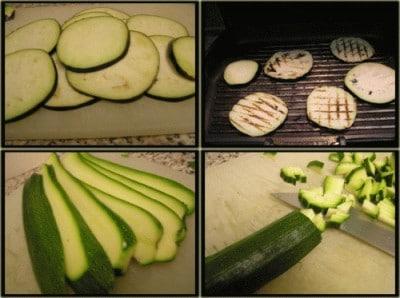 Tiella di melanzane, tonno e zucchine