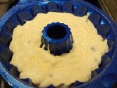 Ciambella con farina di riso e ricotta