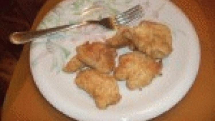 Bocconcini di pollo panati in forno