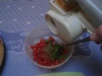Bruschette al forno di rosel