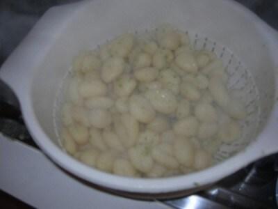 Gnocchi con le cime di rapa
