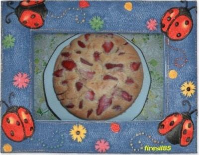 Torta morbida con le fragole di amuro