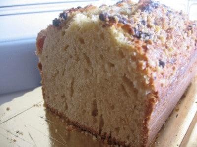 Plum cake alla nocciola