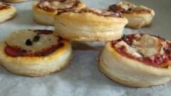Pizzette sfogliate velocissime