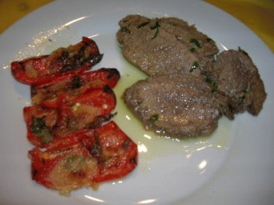 Arrosto all'olio