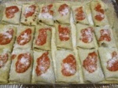 Cannelloni di crepes con verdure