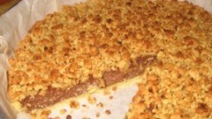 Crostata ricotta e cioccolato con nocciole