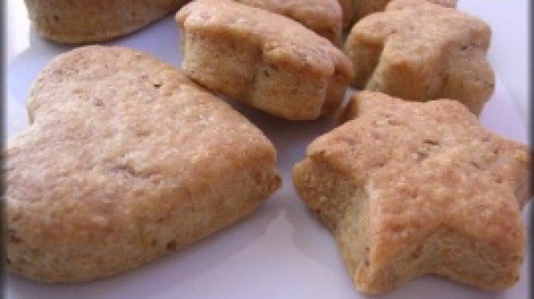 Biscotti al pecorino e olive verdi