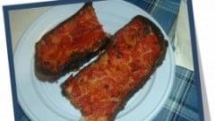 Pane condito alla pizzaiola