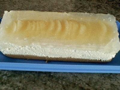 Torta fresca con mascarpone e pere