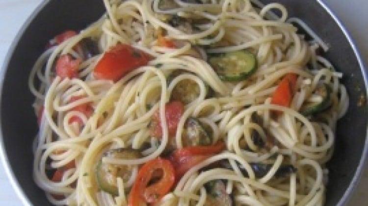 Spaghetti all'ortolana