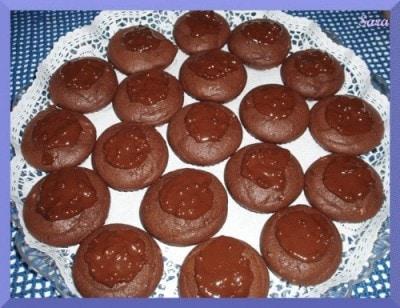 Dolcetti di cioccolato alle nocciole