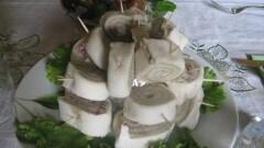 Girelle alla crema di funghi