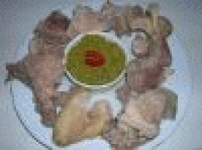 Gallina bollita e salsa verde