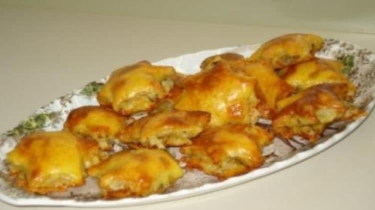 Tartine stella con olive e gorgonzola