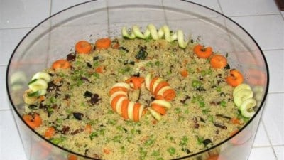 Couscous freddo alle verdure