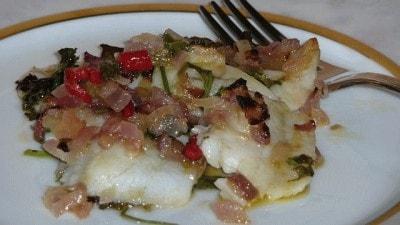Filetti di pesce al lime