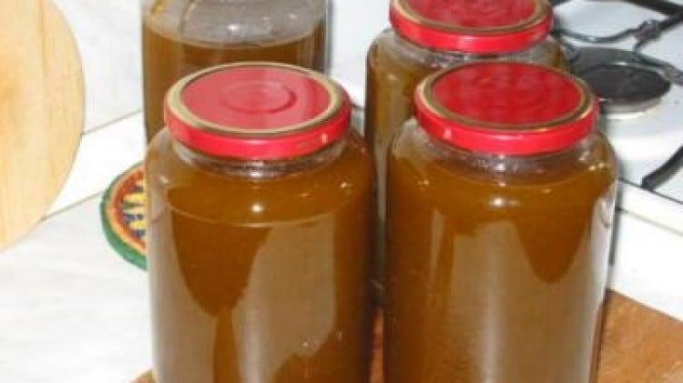 Marmellata di prugne arselline