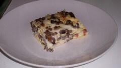 Lasagne con funghi, speck e scamorza affumicata