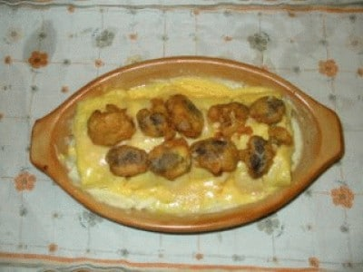 Mini rollè di cavolfiore gratinati al parmigiano