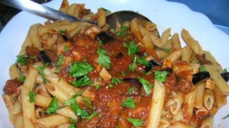 Pasta Pesce Spada E Melanzane Le Vostre Ricette Cookaround