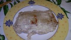 Lasagna di crepes alle noci con crema di noci