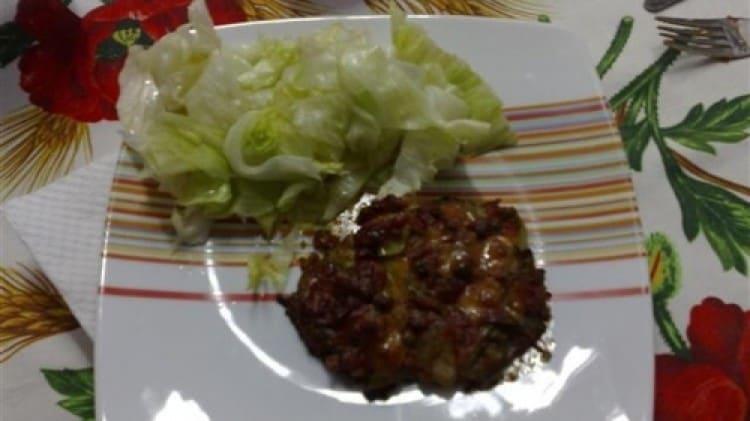 Fettine alle zucchine e alle cipolle al forno