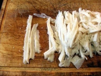 Trippa e patate al profumo di porcini