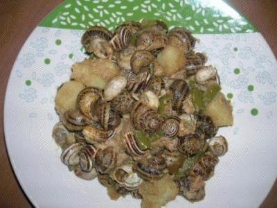 Lumache con patate e tonno