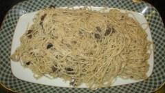 Tagliolini con porcini secchi al tartufo